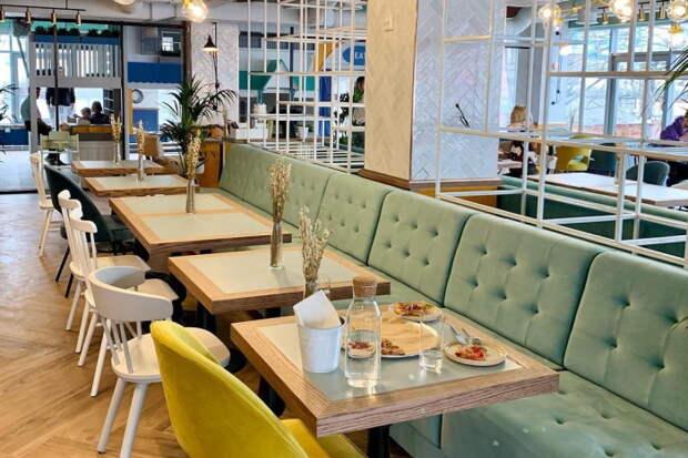 В «Севкабель Порту» открыли пространство «Дети на кухне». Это семейный ресторан и детская кулинарная школа
