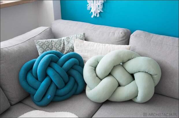 Делаем подушку-узелок
