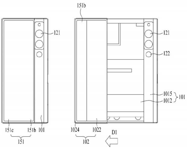 LG получила патент на раздвижной смартфон, который может никогда не выйти