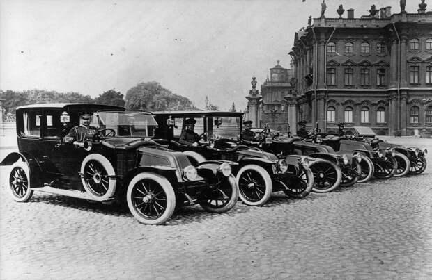 Машины Императорского гаража