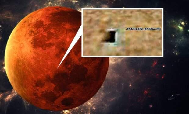 НАСА скрывает города на Марсе?