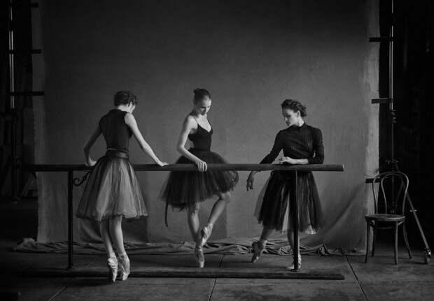 Нью-йоркский балет в фотосессии Питера Линдберга