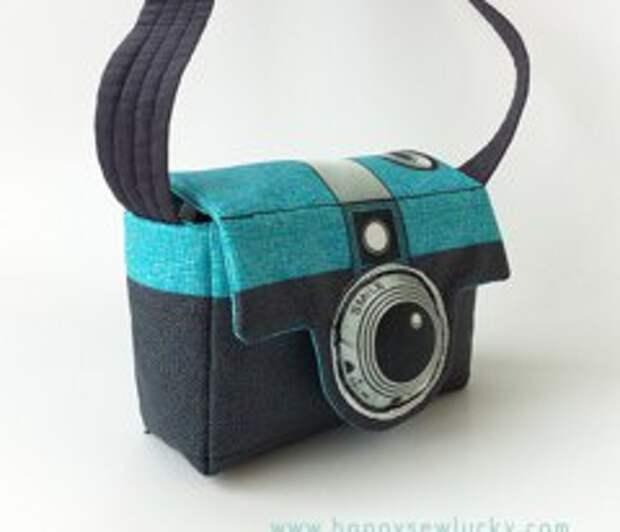 Сумка - фотоаппарат (Diy)