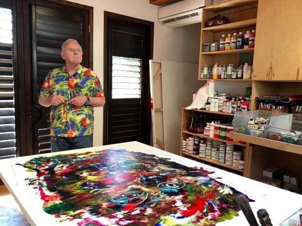 А вы и не знали: Энтони Хопкинс оказался художником