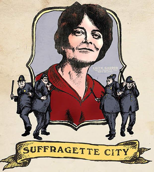 Эдит Гарруд — викторианка с кулаками. История боевого отряда суфражисток
