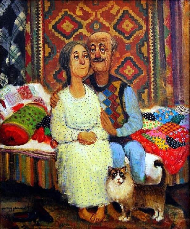 Старые любовники. Автор: Ладо Тевдорадзе.