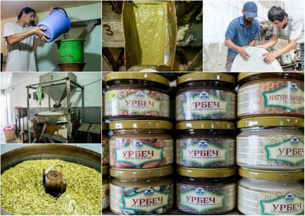 Как делают дагестанский деликатес – урбеч