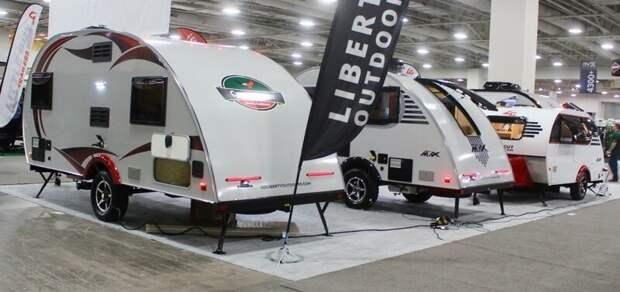 5. Семья трейлеров Little Guy от производителя Liberty Outdoors авто, дома на колесах, кемпинг, отдых, прицепы, трейлер, трейлеры, фото