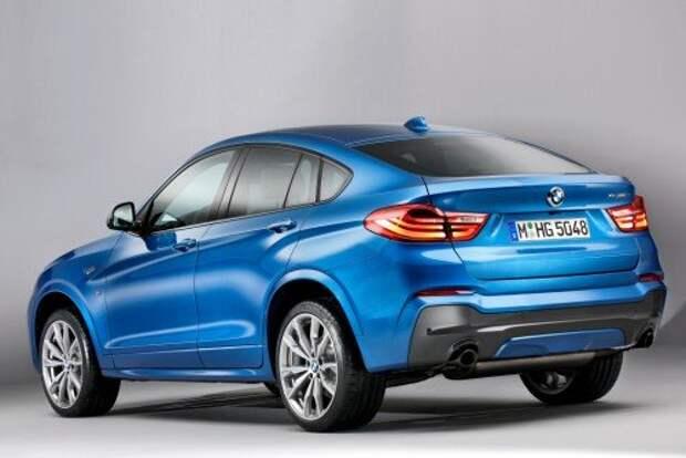 Спорткроссовер BMW X4 M40i выходит в свет (ФОТО)