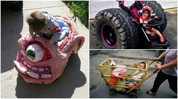 20 абсолютно безумных, но очень крутых детских колясок детские коляски, креатив, родители