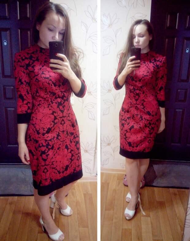 Мастер-класс пошив платья от Dolce & Gabbana