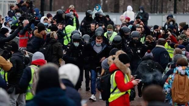 Украинцы предостерегают россиян от последствий протестов