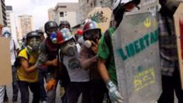 О массовых беспорядках в Венесуэле