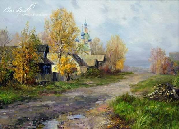 пейзажи художник Сергей Малов - 02