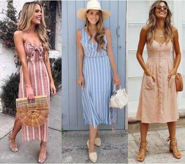 Актуальные образы на жару: как стильно одеваться летом, когда хочется минимума одежды