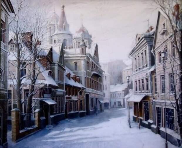 Балтийская зима. Автор: Александр Стародубов.