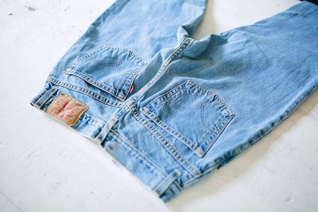 Креативная переделка джинсов