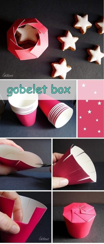 Упаковка из стаканчика (Diy)