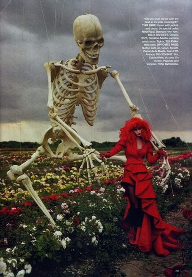 Halloween Fashion: страшилки Тима Бёртона и Тима Уолкера
