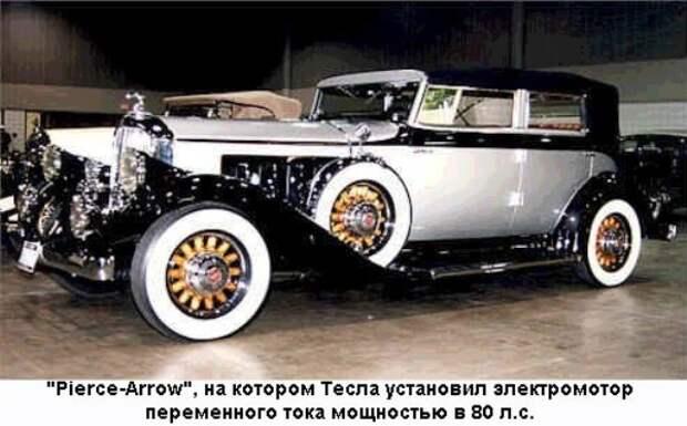 Автомобиль Никола Теслы
