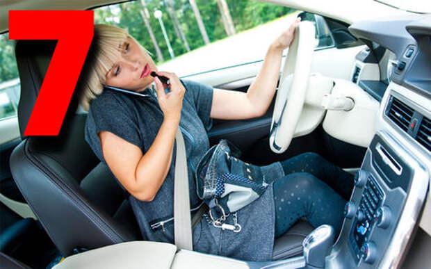 Семь типов водителей, которые раздражают