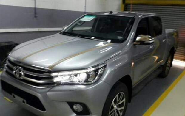 Новый пикап Тойота Hilux дебютирует 21 мая