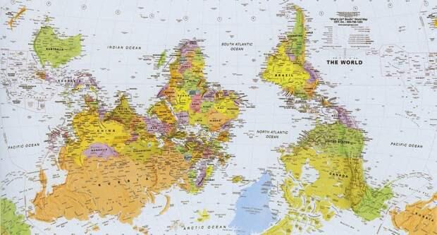 worldmaps06 Карты мира—как они выглядят в разных странах
