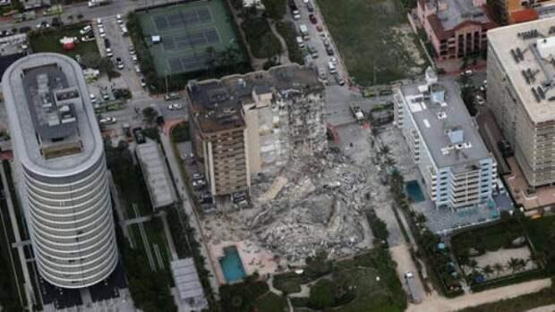 Власти готовят население Майами к«очень плохим новостям» после обрушения дома