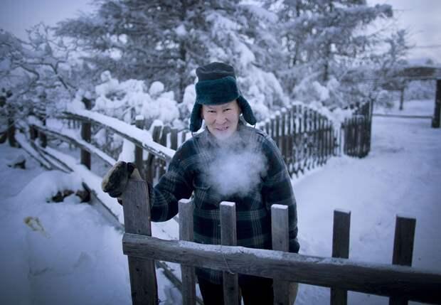 Оймякон - самый холодный город планеты