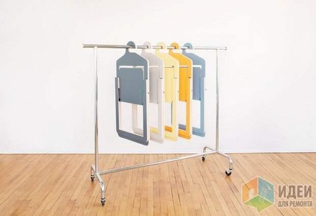 Идеи хранения одежды, многофунциональные вешалки для одежды