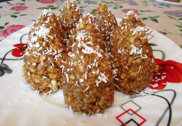 Печенье «Новогодние шишки»
