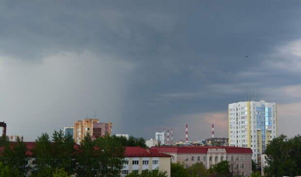 В Башкирии ожидается резкое ухудшение погоды в виде дождя и града