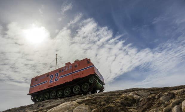 Антарктический крейсер СССР: изделие 404С создали для покорения Южного поля недоступности