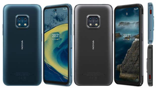 IP68, 5G, 48 Мп, 4630 мА·ч и перспектива обновления до Android 14. Представлен защищенный смартфон Nokia XR20