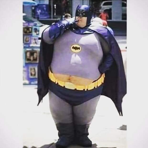 Изнанка жизни Бэтмена всячина, радости, смешное, толстые, юмор