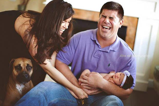 Младенцы тоже какают. Особенно на собственных фотосессиях