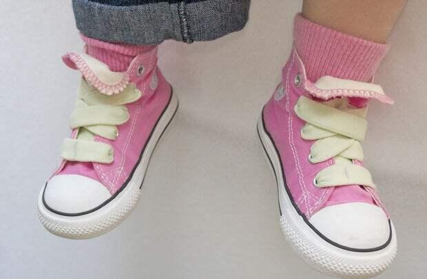 Нет шнурованию ботиночек (Diy)