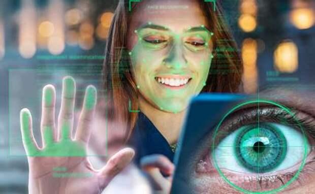На фото: одна из систем биометрической идентификации