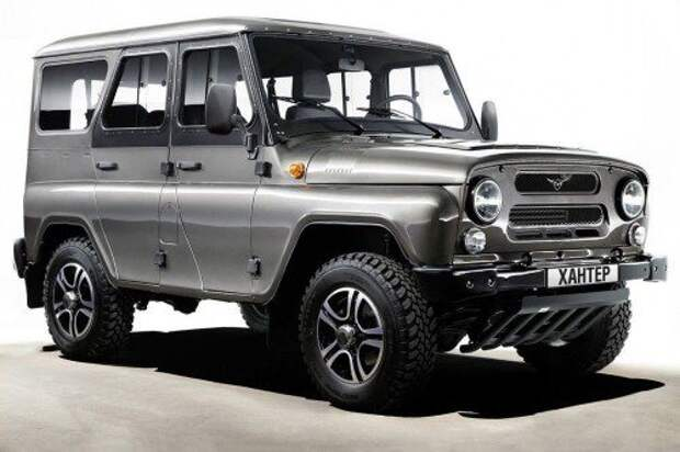 UAZ Hunter Trophy