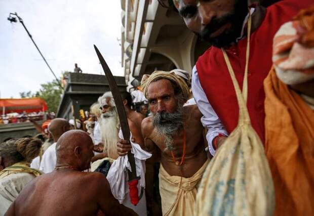 Праздник Кумбха-мела в Индии