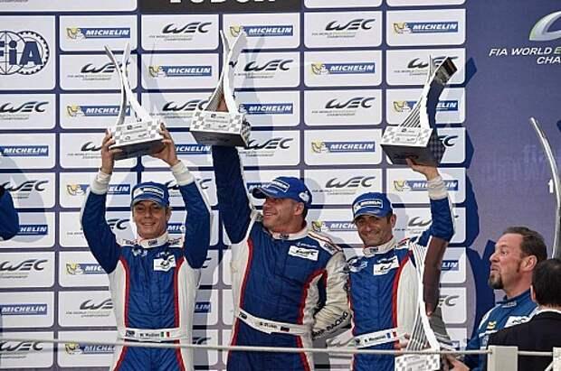 FIA WEC: россияне выиграли чемпионат