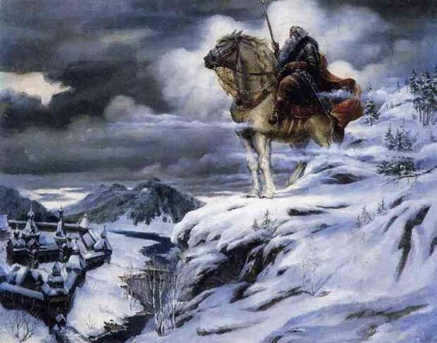 Сказание о храбром витязе сильномогучем русском богатыре Святогоре....