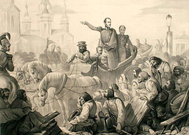Как русские бунтовали во время массовых эпидемий