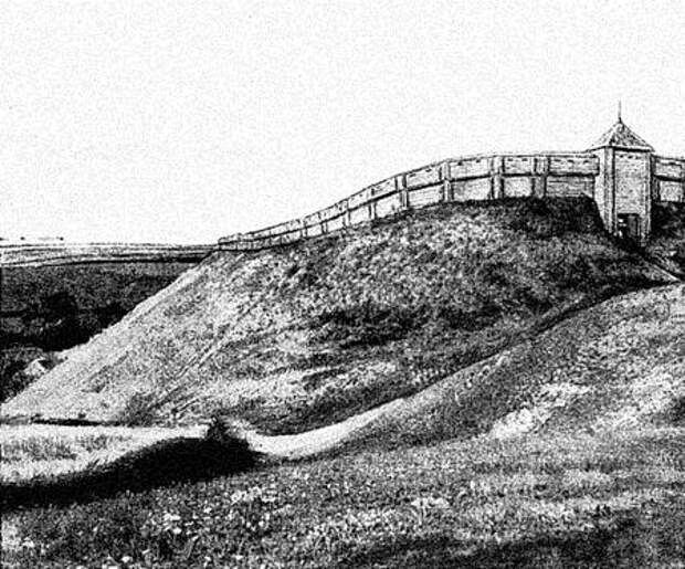 Древние русские крепости: Киевская Русь