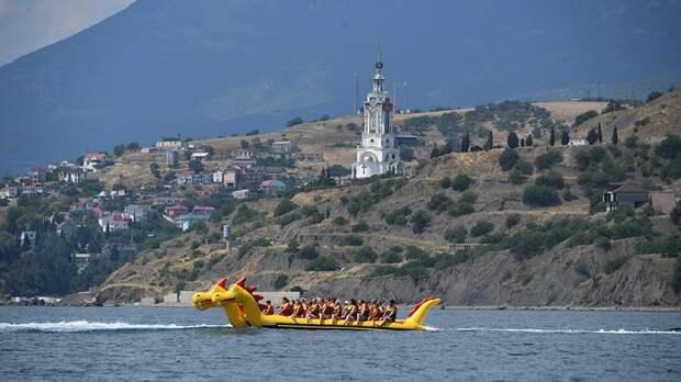 В Крыму отметили популярность курорта среди украинцев