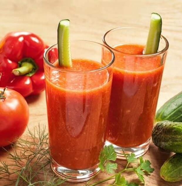 Безалкогольные напитки. Готовим овощной фреш грамотно