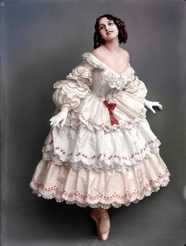 Вера Фокина - балерина. 1914 год.