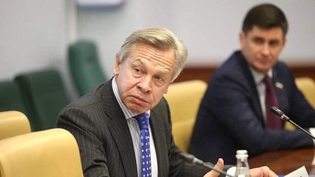 Пушков оценил возможность главы минобороны ФРГ стать новым генсеком НАТО