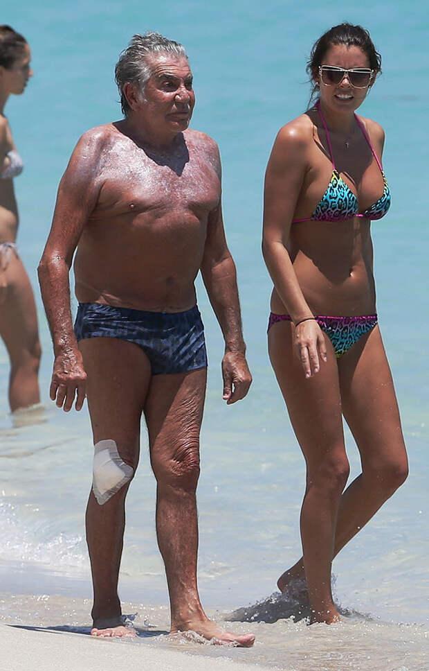 Звездные «пенсионеры» и их юные жены