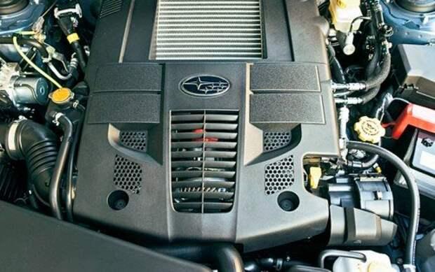 Наддувный мотор EJ25 – последний из могикан. В России он остался только под капотом нового Subaru WRX STI c высокой степенью форсировки.